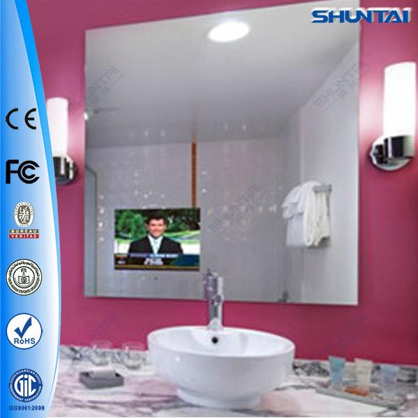 Smart 19 inch waterproof magic led tv mirror view led tv for Ecran miroir tv