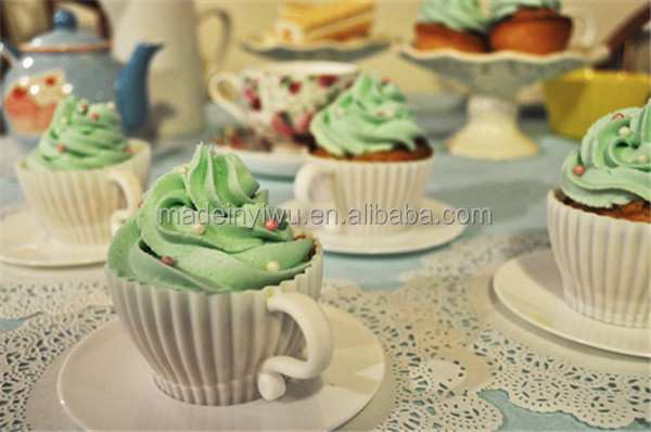 Afternoon tea cupcake
