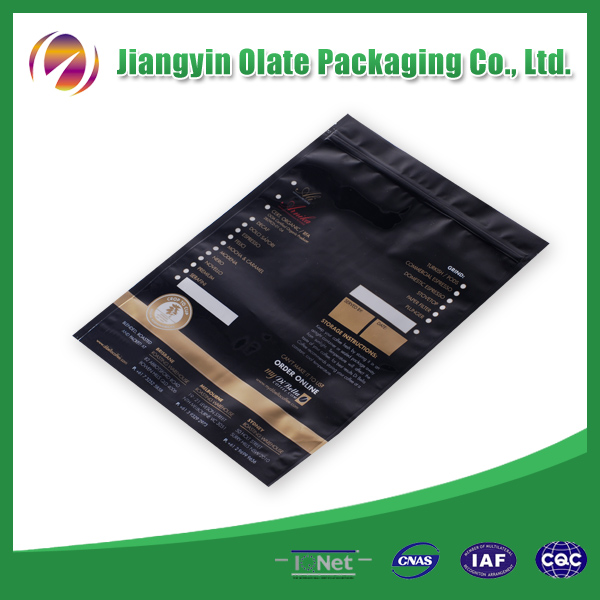 Printed Plastic packing bag for clothes
