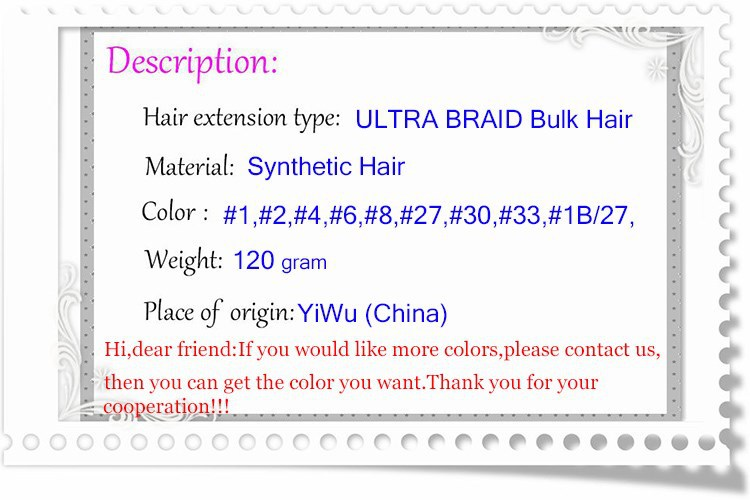 Kelly Hair 120g/5 /xpression ULTRA BRAID