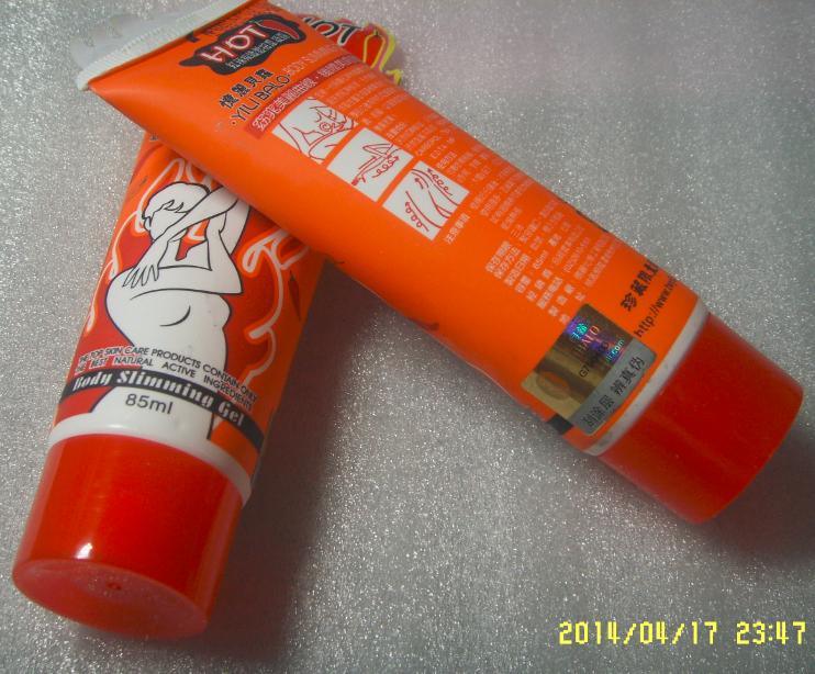 4pcs/Lot =2pcs Hot Chili Weight Loss Cream and 2pcs Coffee Version Yilibalo 85ML Body Slimming Cream ,Free shipping-in Slimming