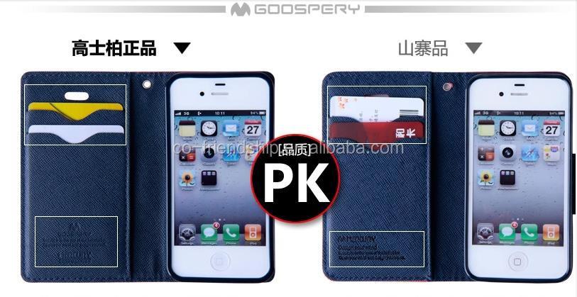 mercury goospery fancy diary leather case,pouch wallet case for LG G PRO LITE D686