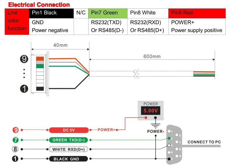 3D electronic compass inclinometer heading sensor digital compass