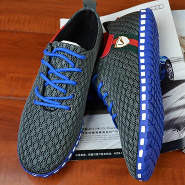 Новая летняя обувь мужчины zapato туфли дышащий человек сетчатые Кроссовки Обувь Лофер 61275