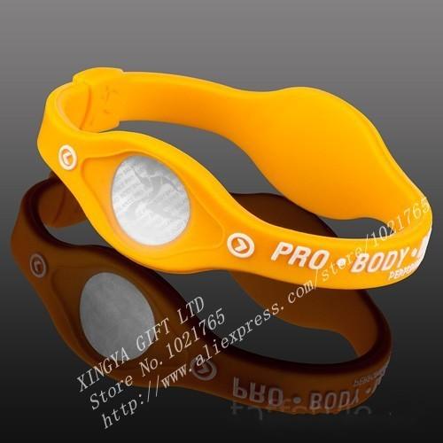 웃 유5pcs Lot Power Energy Hologram Bracelets ᐂ Wristbands