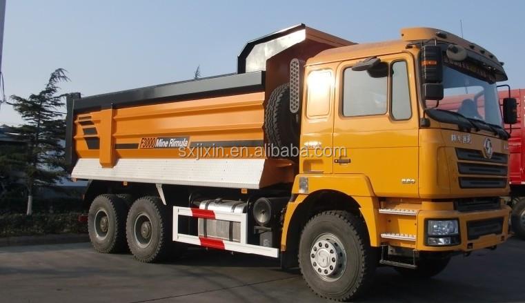 Shacman 25ton dump truck 6 4 type with golden chain - Metre cube en tonne ...