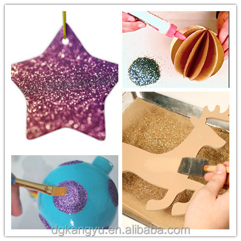 Handmade Craft From Waste Material Pet Glitter Powder