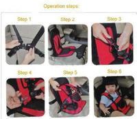 1шт портативный автомобильный baby/детей/младенцев/детей безопасность сиденья крышка подушки многофункциональный стул авто ремень 2colors 870063