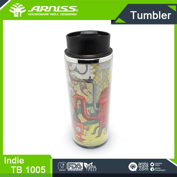 Tb 1005 Arniss Black Beverage Water Bottle Tea Bottle