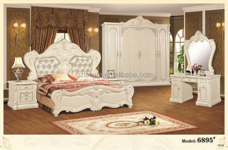 Top Sale High Quality Glossy Modern European Luxury Style Furniture Bedroom Bedroom Furniture