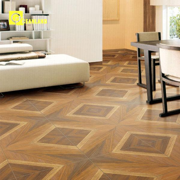 Unique wooden pattern moroccan style best floor tiles in for Exterior floor tiles design kerala