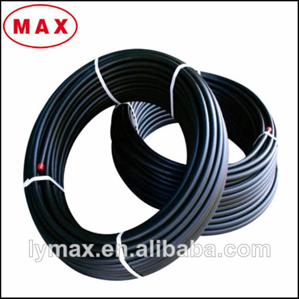 Hdpe black plastic water pipe roll plastic pipe for sale for Plastic plumbing pipe types