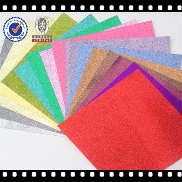 Hot vente 2014 coloré. d'paillettes artisanat en papier de haute qualité