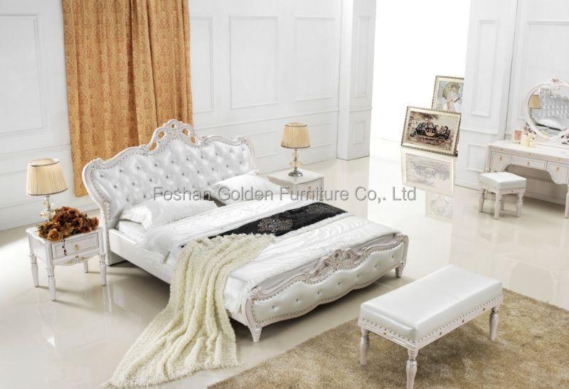 로코코 스타일의 가구 단단한 나무 침실 가구-침대 -상품 ID ...