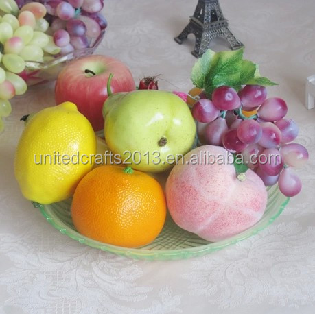 2014 hot selling decorative fake artificial fruit