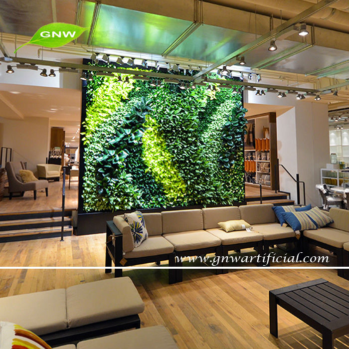Gnw Glw036 Vertical Green Wall Wholesale Fake