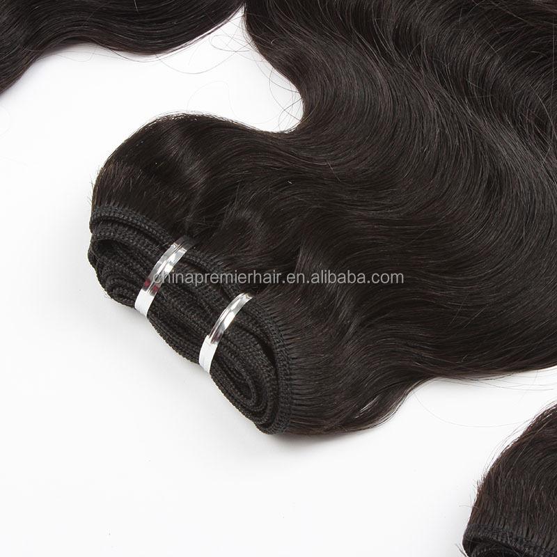 Trade Assurance onda do corpo brasileiro extensão do cabelo humano de 100% não transformados atacado virgem cabelo brasileiro
