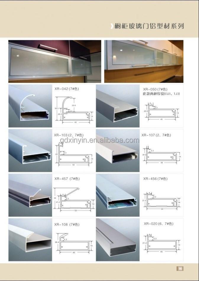 Aluminium Frame Cabinet Doors Width Aluminium Door Frame