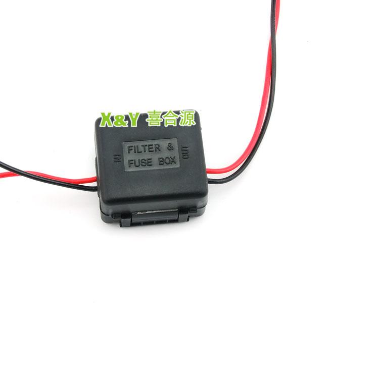 Dc à 12v 24v voiture dc transformateur de puissance de voiture adaptateur secteur( xy- 9312)
