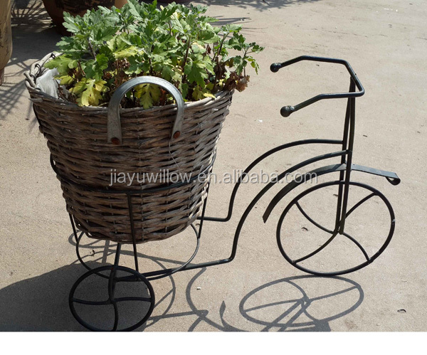 Metal Flower Hanging Baskets : Wire basket for plants metal hanging baskets flowers