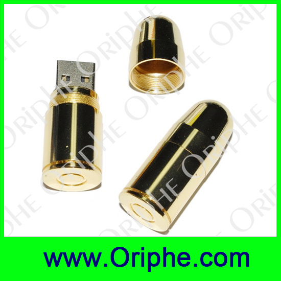 promotional pendrive wholesale free sample customized Bullet USB Flash Drive