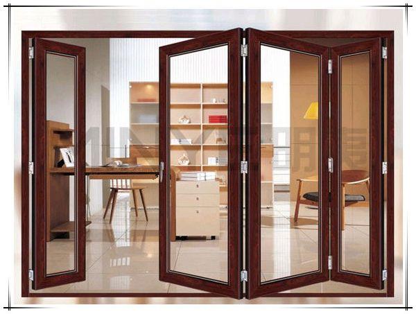 Aluminium Door Designs : Wood grain aluminium doors and windows designs
