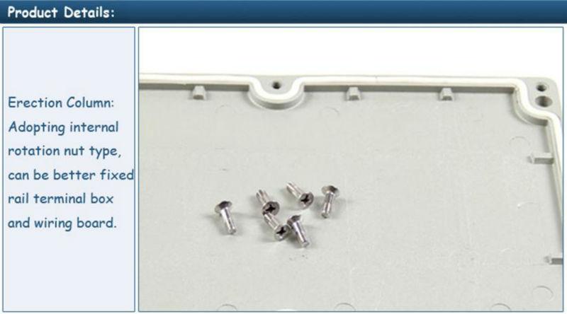 Saipwell High quality IP65 Die-cast Aluminium Waterproof Box 340*235*160MM