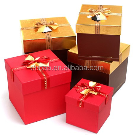 The ideal Christmas gift boxes for a variety of presents, Silver and Gold trim, nested with lids, small, medium and large, Set of 6 for holiday gift baskets and wrapping. by Kraft King. $ $ 24 99 Prime. FREE Shipping on eligible orders. 4 out of 5 stars 3. Product Features.
