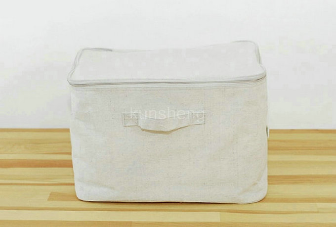 Canvas Storage Bags With Zippers Canvas Zipper Storage Bag