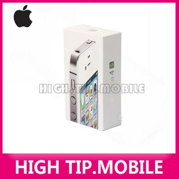 image for Factory Unlocked Original Apple Iphone 4S 8GB/16GB/32GB/64GB Mobile Ph