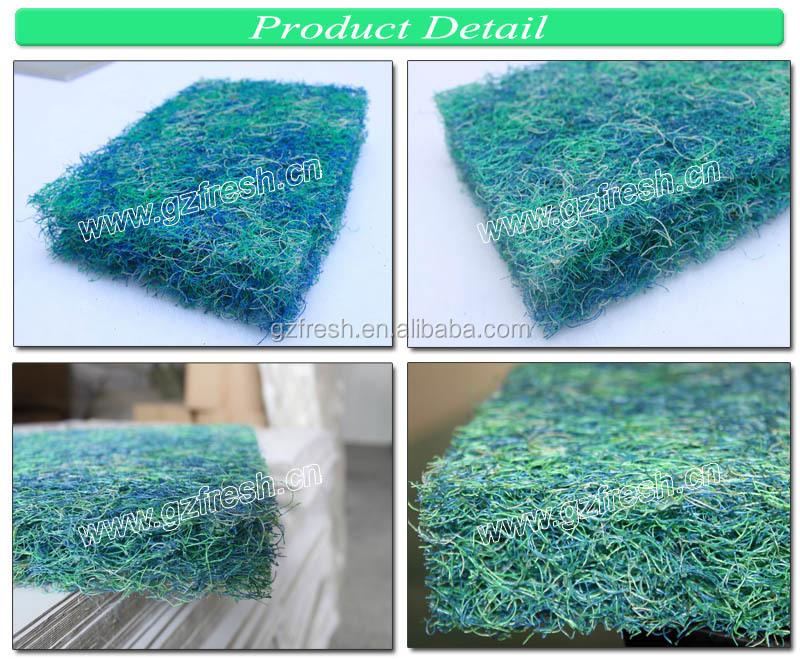 Supply high quanlity fishpond bio filter media koi ponol for Koi pond japanese matting