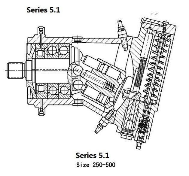 a7v78 cc axial piston variable pump 350bar