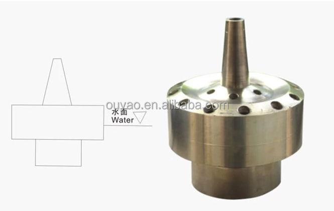 China manufacturer quot brass flower shape spray water jet