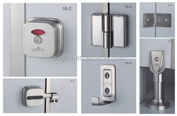 HPL compact phenolic toilet partition