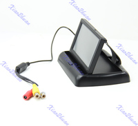 Автомобильный монитор 4.3 inch Foldable Car Rear View Reverse Backup Camera TFT LCD Color Monitor Drop Shipping