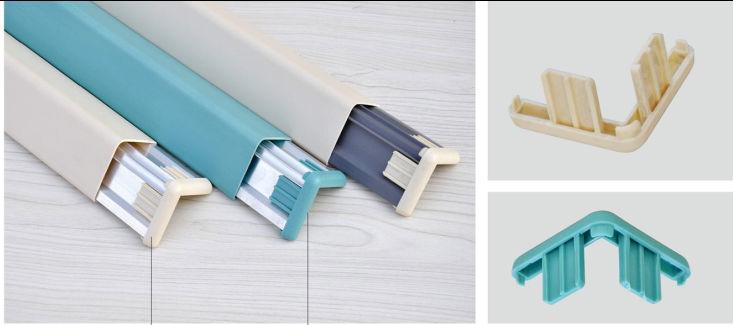 Baguettes d 39 angle pvc pour protection murale protection d for Baguette d angle pour enduit exterieur