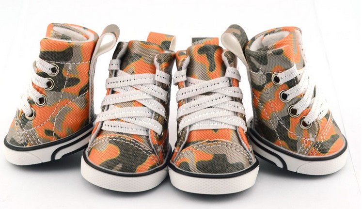 camouflage pet shoes for dog wholesale