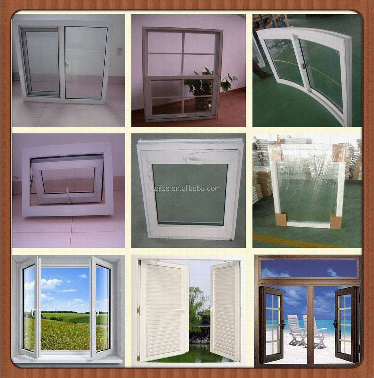 Pvc Outward Top Suspension Window Doors With Windows That