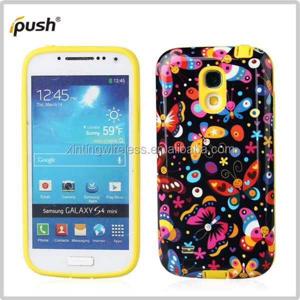 China Global Supplier tpu pc case for samsung s4 mini sublimation pc case for s4 mini