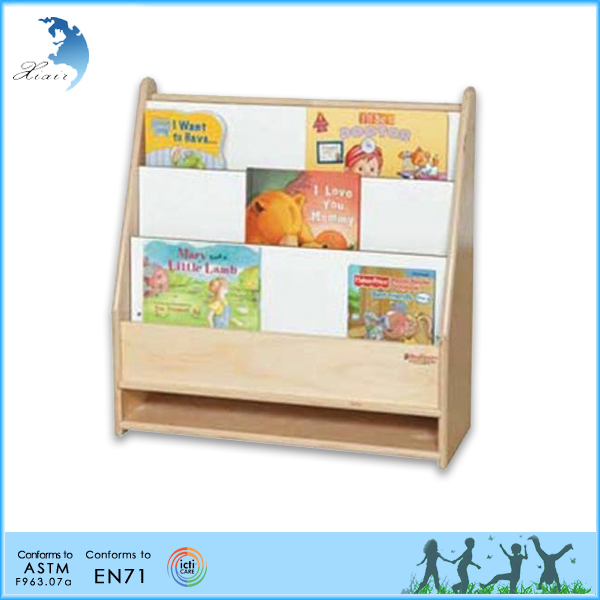Preschool Wooden Educational Montessori Material En71 Furniture Pre School Two Shelf Storage