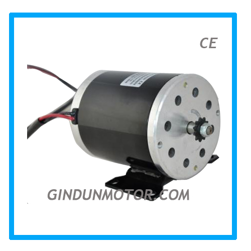 500w 24v small electric dc motor for scooters model zy1020 for Small dc electric motors