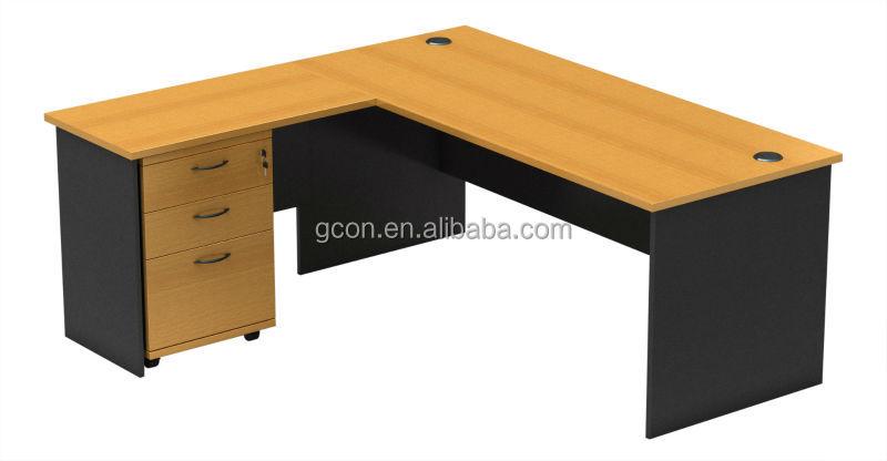 Escritorio esquina yosoo forma l mesa escritorio de - Escritorio en esquina ...