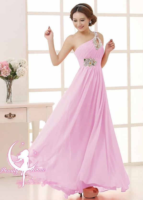 2016 бесплатная доставка одно плечо бусины возвращения на родину ну вечеринку платья формальные длинные вечерние платья свадебные платья феста Большой размер TK089