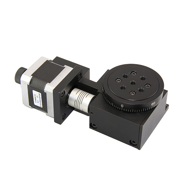 Motorized Stepper Motor Worm Gear Rotary Stages Lsdh 200ws