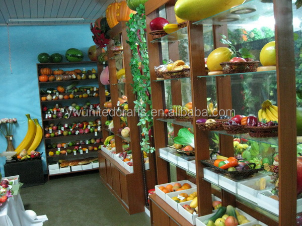 Lifelike artificial fruits and vegetables factory wholesale