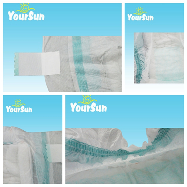 High quality and low price super soft YOUR SUN baby diaper