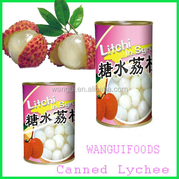 2014 Canned Leechee Fruits For Supermarkets