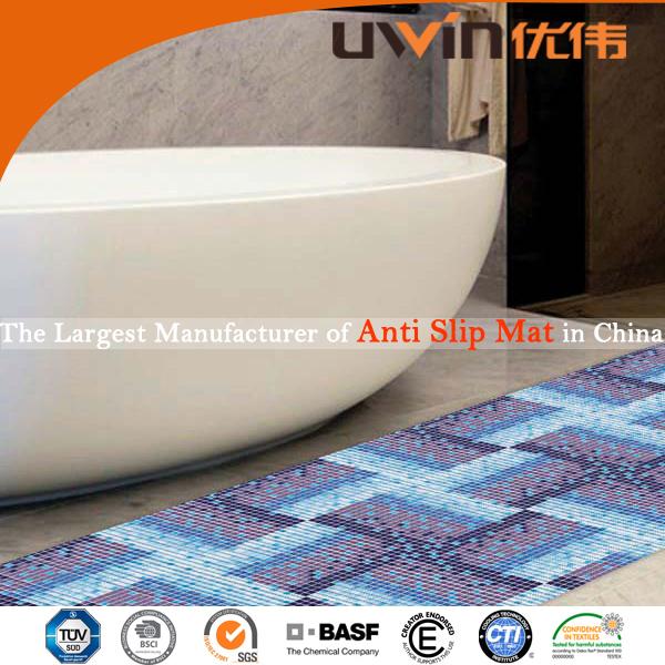 mousse de pvc antidérapant tapis de sol de salle de bains-Tapis de ...