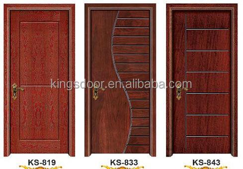 Mais recentes modelos de porta de madeira com pintura para for Modelos de puertas de madera para recamaras