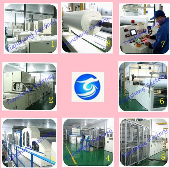 Wet Wipes Material Spunlace Nonwoven Fabric(own factory)